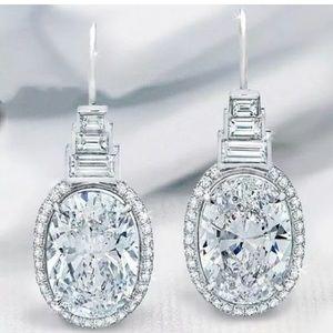 NEW! 925 silver drop dangle earrings